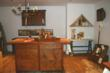 Kitchen Center Island made from reclaimed antique pine.
